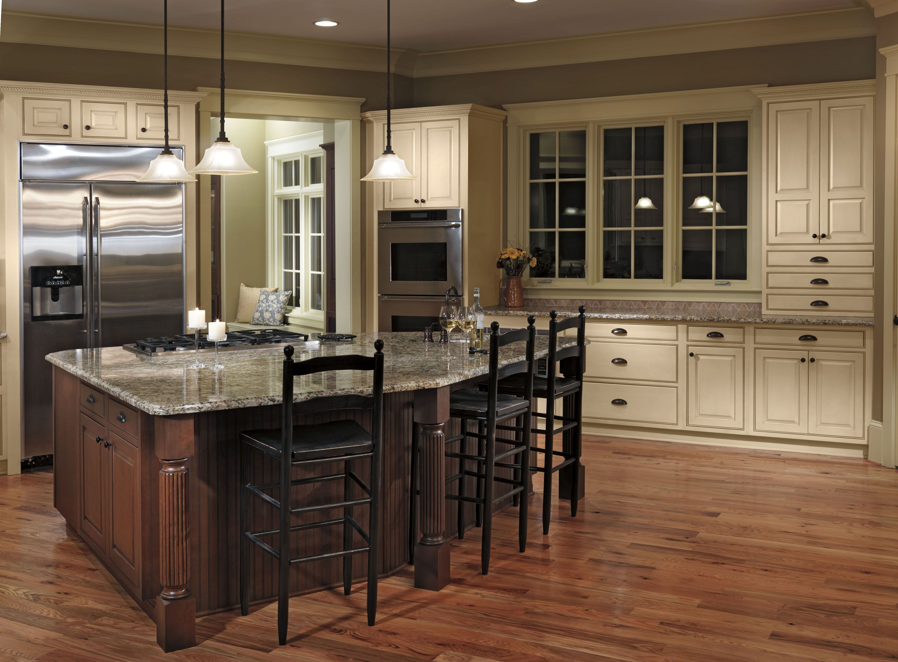 Door Style Georgetown Wood Species Maple Finish White C Haas Cabinet Wood Species Quality Cabinets Dream Kitchen