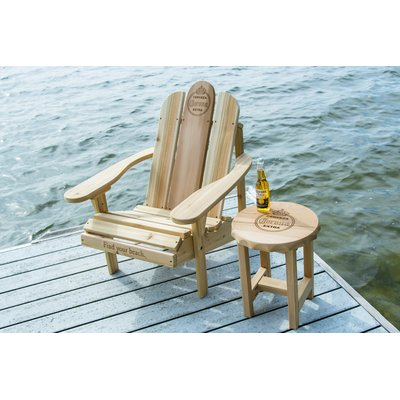 Miraculous Corona Solid Wood Adirondack Chair With Table In 2019 Gmtry Best Dining Table And Chair Ideas Images Gmtryco