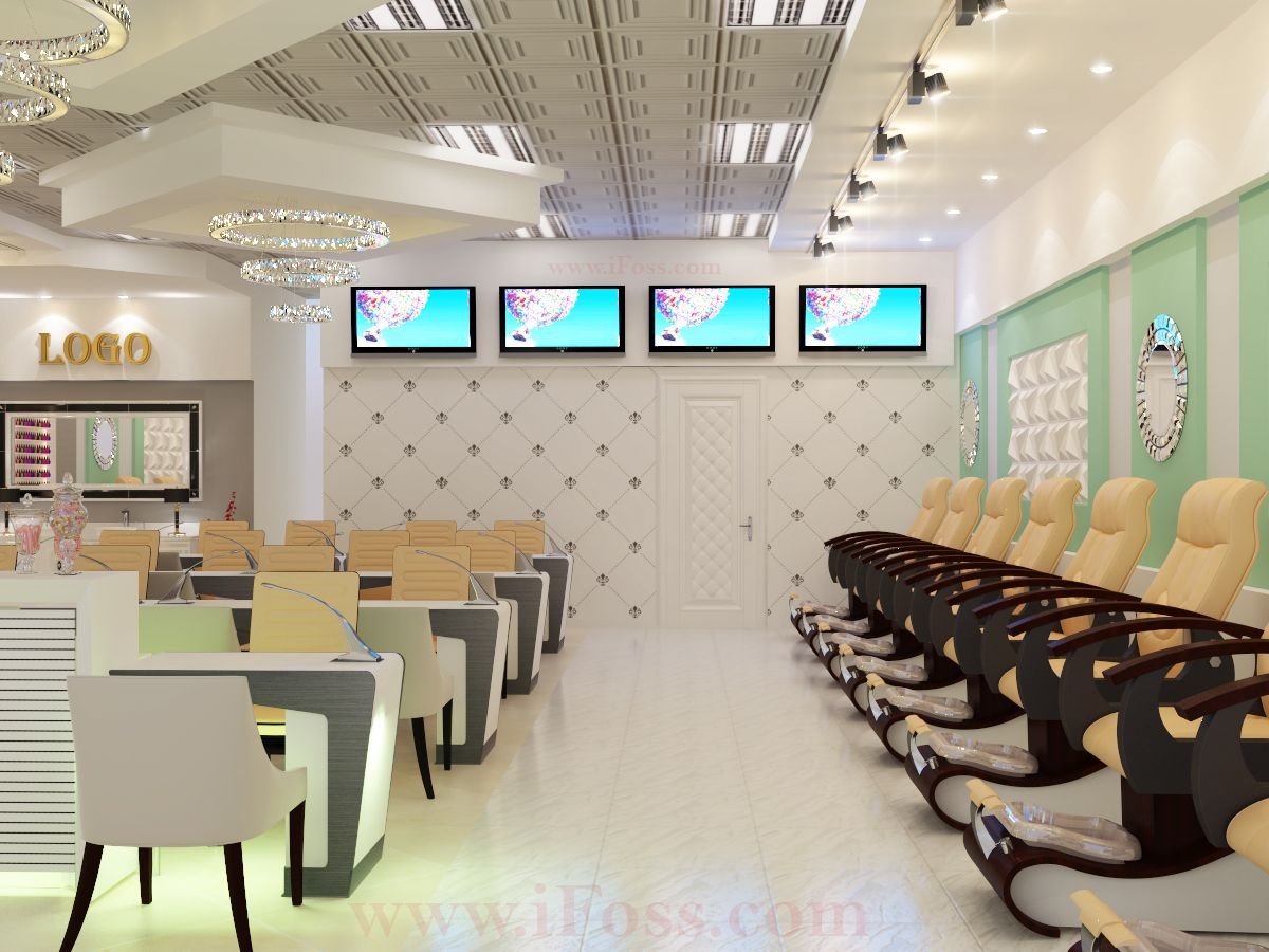 Modern Nail Salon Photos With A Minimalist Style Pictures Photos And Ideas Of Home Interior Exterior Nail Salon Decor Modern Nail Salon Nail Salon Interior