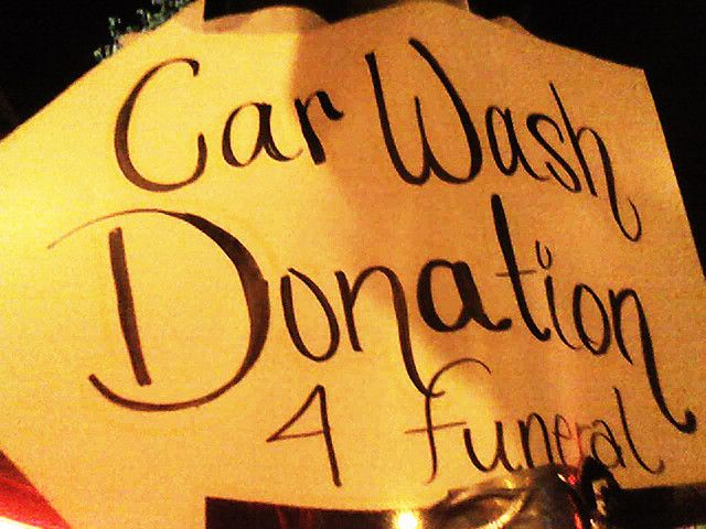 Car Wash Donation 4 Funeral Life Insurance Policy Life