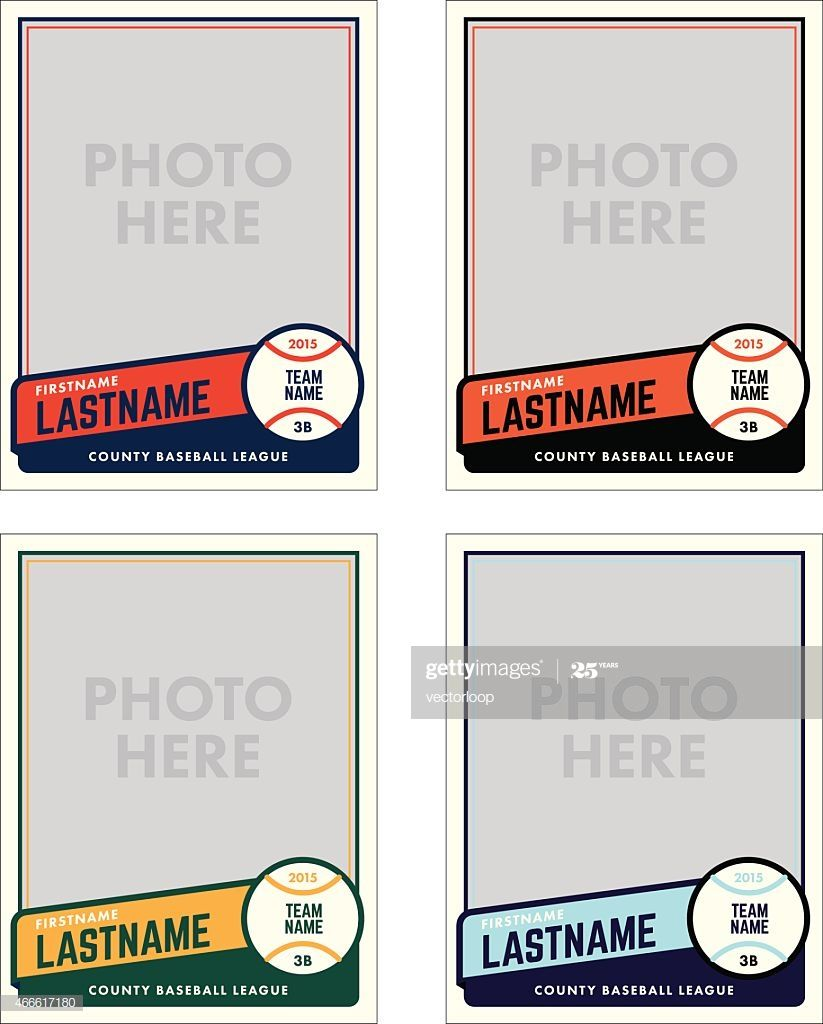 Create Your Own Baseball Cards With These Great Templates Add Your Trading Card Template Baseball Card Template Card Templates Printable