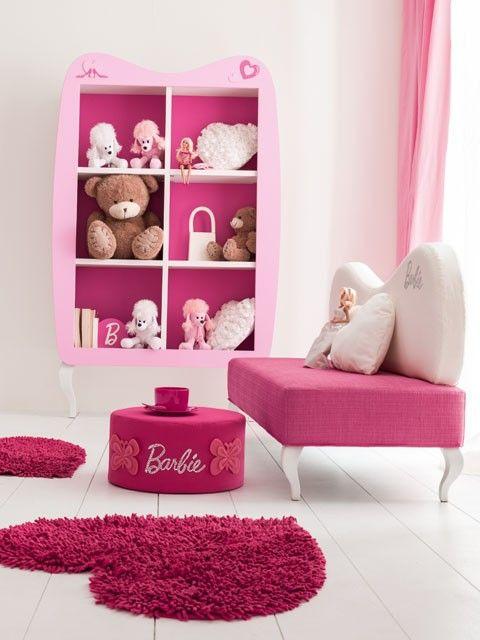 Composiciones para cuarto de niña Accesorios Barbie. Muebles de ...