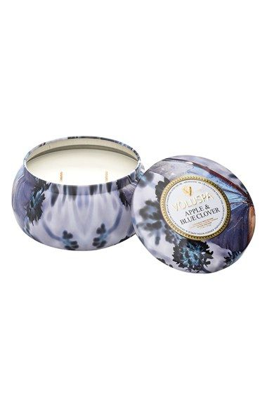 Voluspa 'Maison Jardin - Apple & Blue Clover' Two-Wick Candle available at #Nordstrom