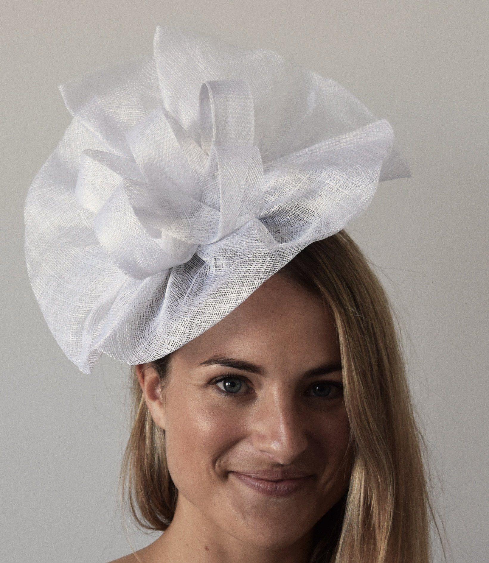 4eef9366d464c Tia large bright red fascinator royal wedding hat kentucky derby hat ...