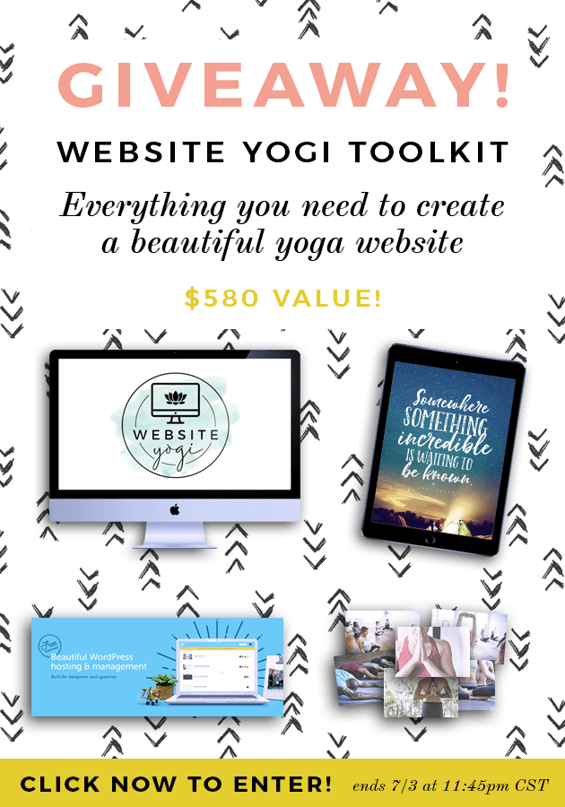 GIVEAWAY! Enter to win everything you need to create your own