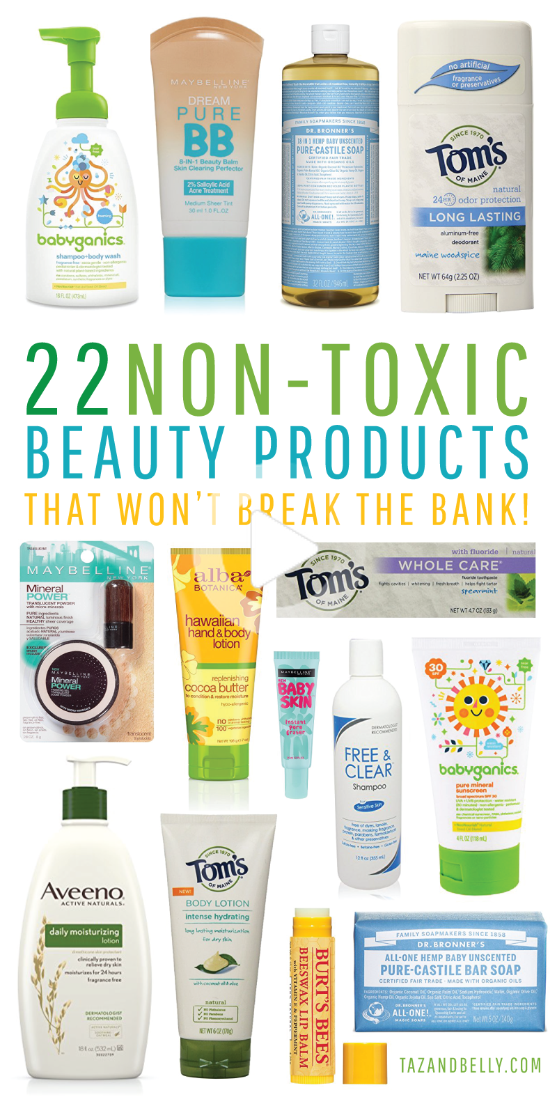 Non Toxic Beauty Products That Won T Break The Bank In 2020 Safe Beauty Products Natural Body Lotion Beauty Skin Care