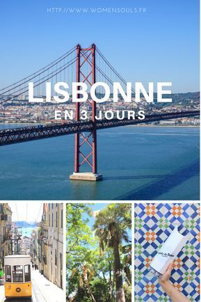 Visiter Lisbonne en 3 jours ! #lisbonne #weekend #lisboa