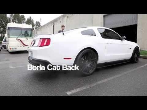 Mustang 5 0 Kooks Headers - Stock Cat - Borla Exhaust