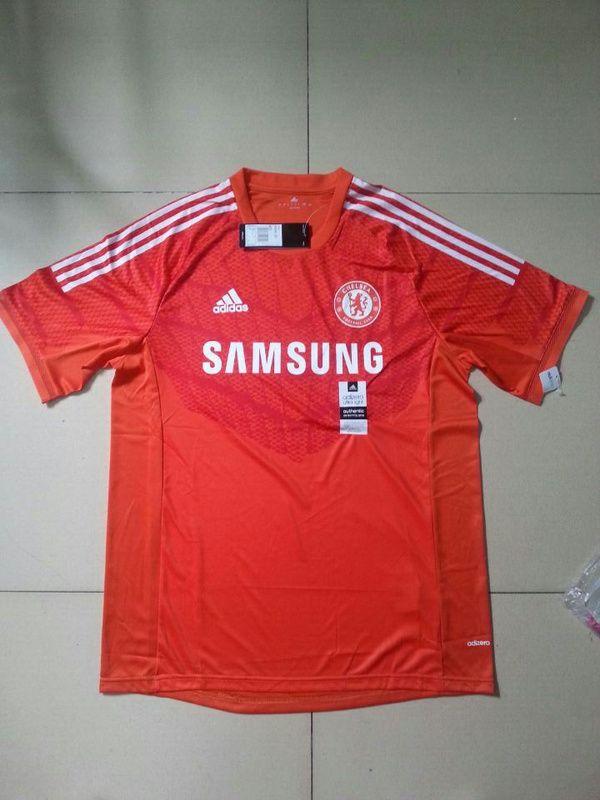 buy online b1900 8afd6 14-15 Chelsea Goalkeeper Red Thailand Soccer Jersey ...
