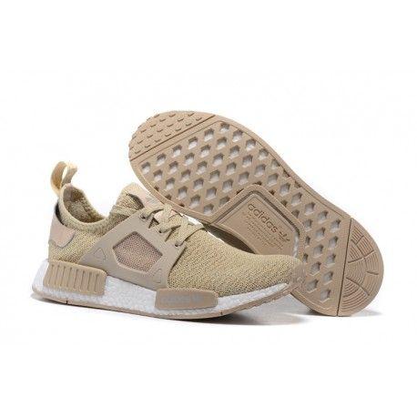 Adidas NMD XR1 PK Beige Cr�me, chaussures hommes, tr�s confortable pour les  entra�nements. Boost ShoesRed ...