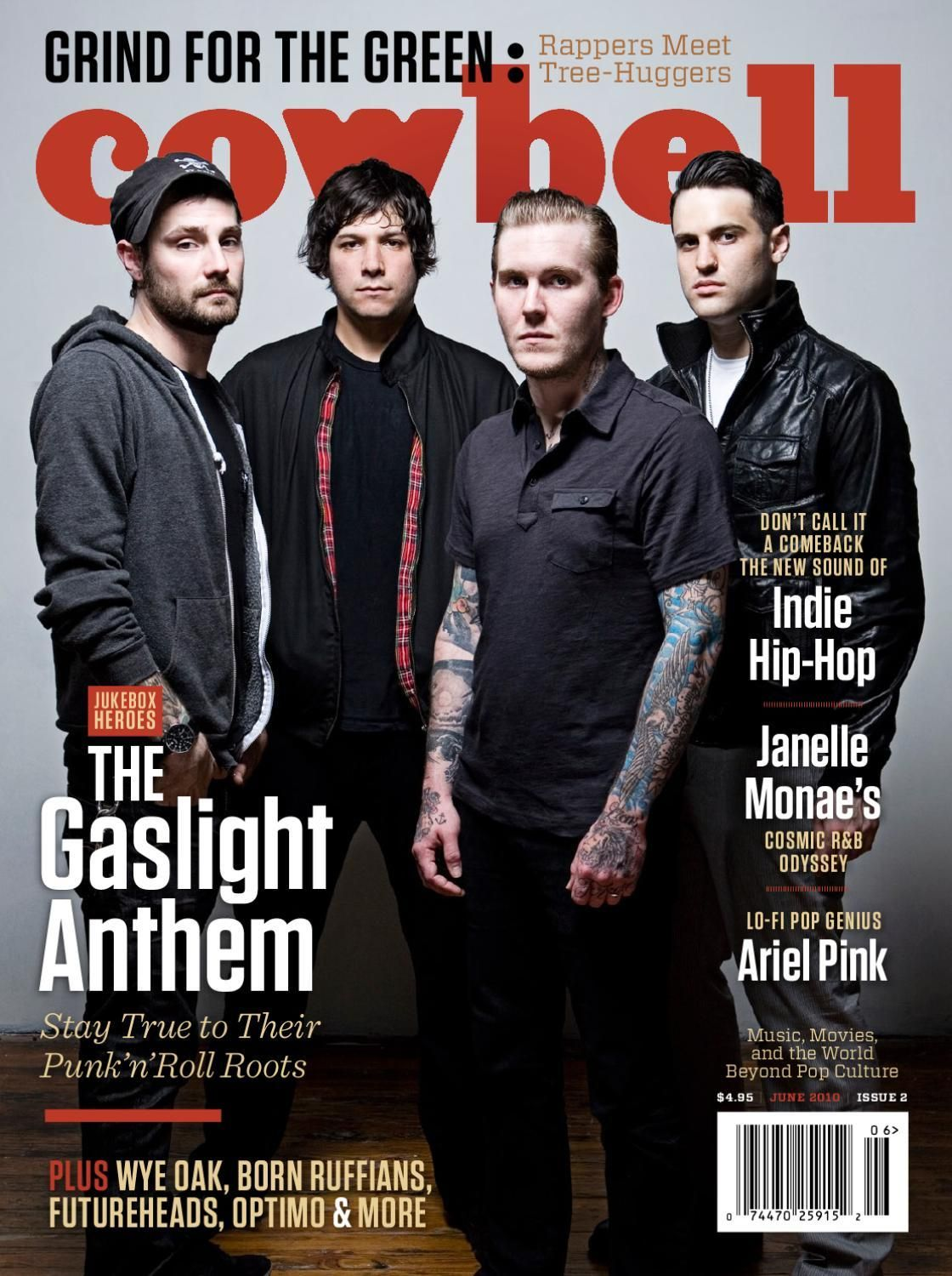 #ClippedOnIssuu from Cowbell Magazine #002 June 2010