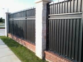 Privacy Screens Home Architectures Design Wrought Iron Fence