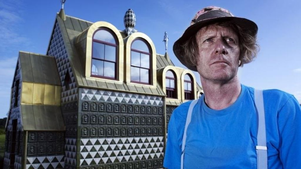 Channel 4 has released the first images of the house that artist Grayson Perry is designing in Essex.