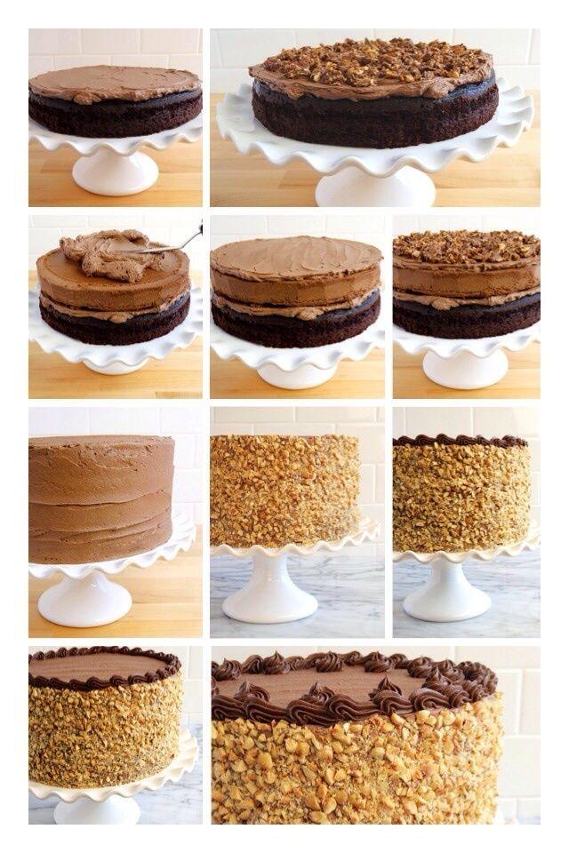 ferrero rocher tårta recept