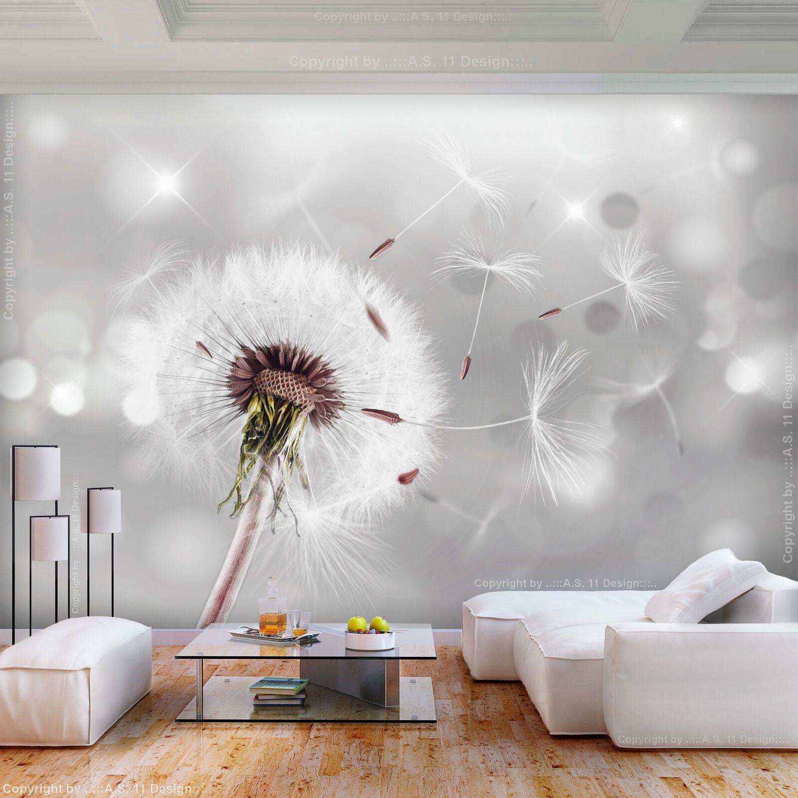 Vlies Fototapete Blumen Pusteblume Grau Tapete Wandbilder Xxl Wohnzimmer 081 Eur 8 99 Fertig Wandbilder Leinwandb Behang Woonkamer Behang Ideeën Fotobehang