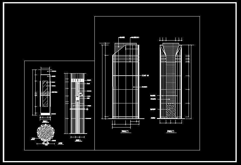 ☆【Column Design Drawing】☆ http://www.boss888.net/autocad/b14 ...