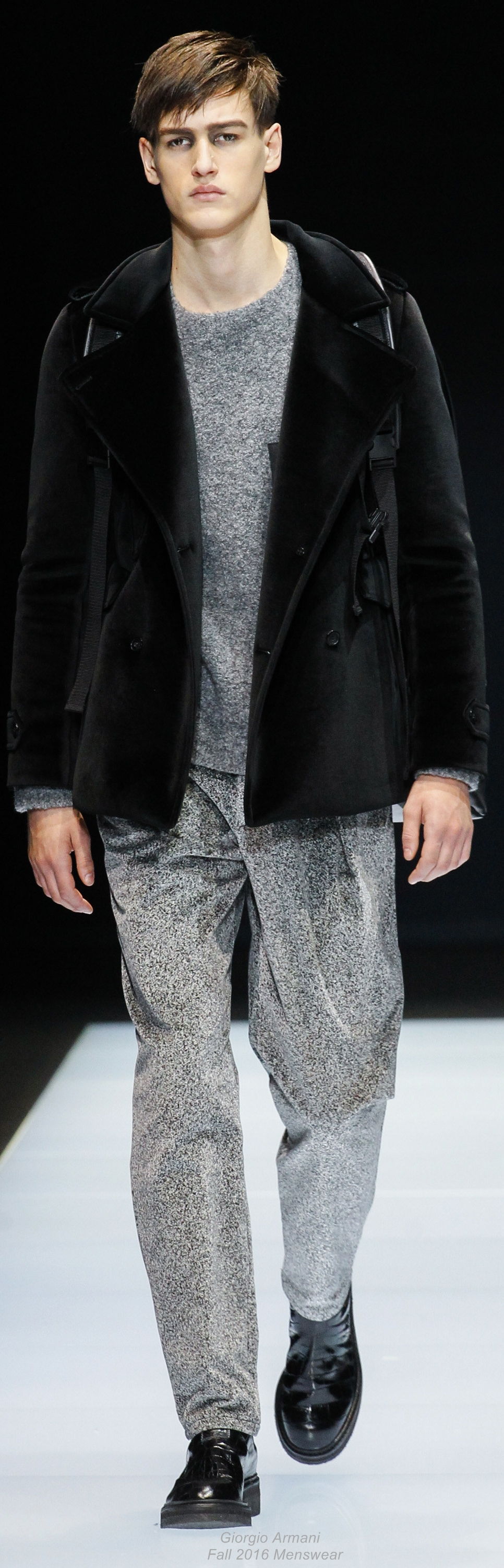 Giorgio armani fall menswear men casual dress pinterest