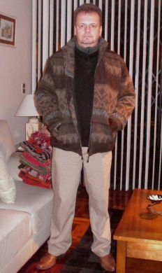 Elegante #Herrenjacke aus #Alpakawolle in allen Größen lieferbar.