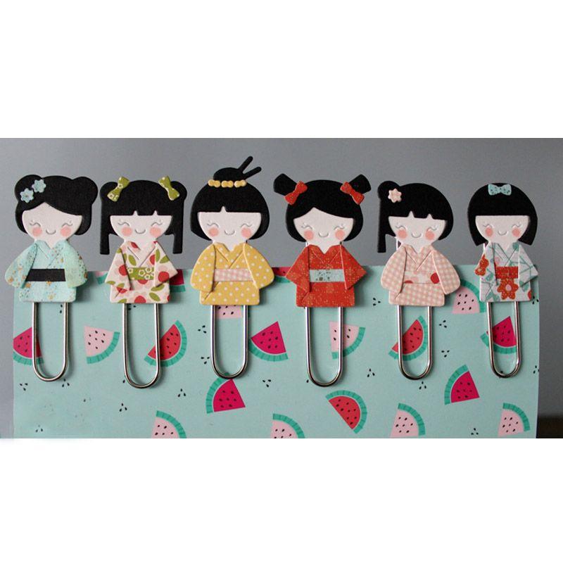 Cheap kimono de la muchacha de troqueles de corte de metal - Accesorios para scrapbooking ...