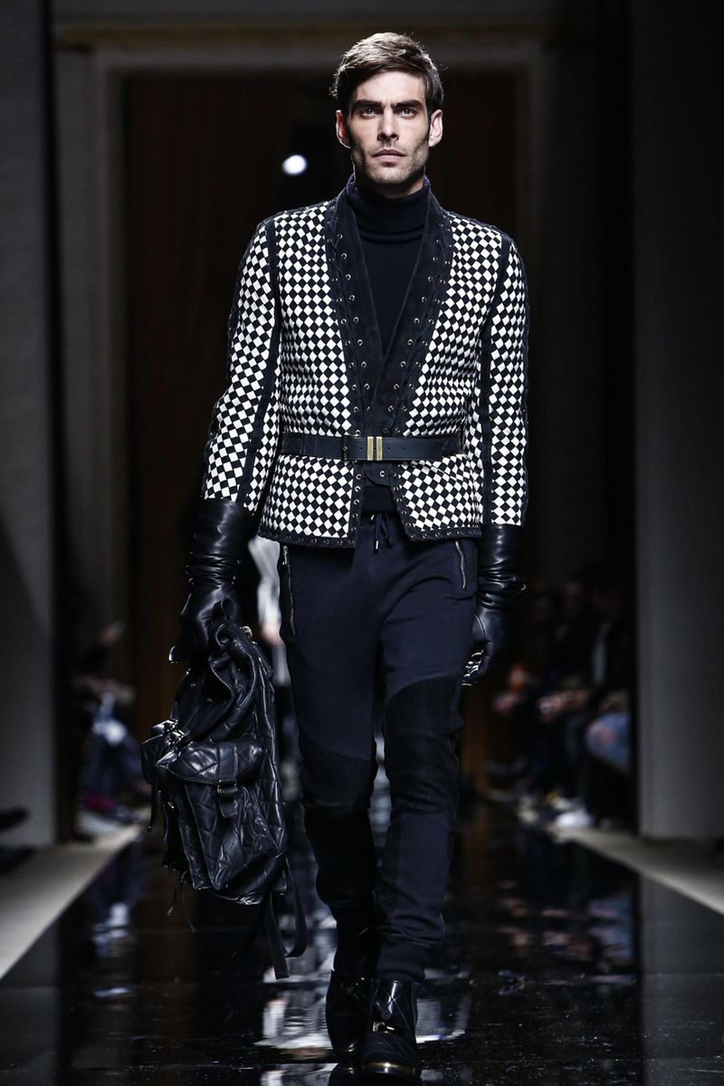 Balmain Menswear Fall Winter 2016 Paris