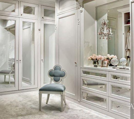Mirrored Closet Suzanne Kasler Pretty Organized Diy