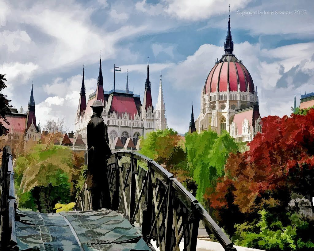 Hungarian National Parliament in Budapest Topaz filters used: Adjust/Painting