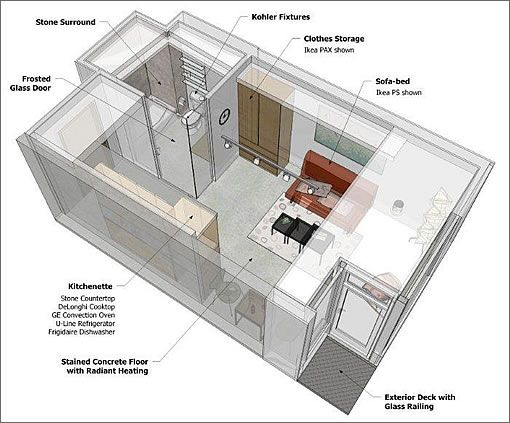 Cubix Typical Floor Plan (Image Source: cubixsf.com) - micro studio ...
