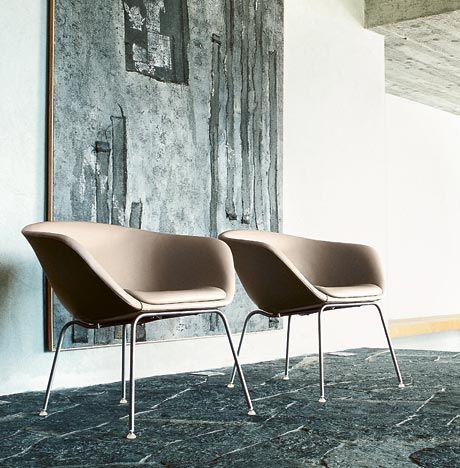 Peachy The Duna Lounge Chair 4 Legs Seating Arper Colgate Machost Co Dining Chair Design Ideas Machostcouk