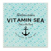 Found it at Wayfair - Vitamin Sea Saltwater in Your Soul with Anchor Wall Plaque
