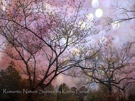 Nature Photography Fantasy Tree Photo Whimsical Nature Decor Purple Pink Sepia Dreamy Nature Fine Art Phot Nature Photography Fantasy Tree Nature Photos