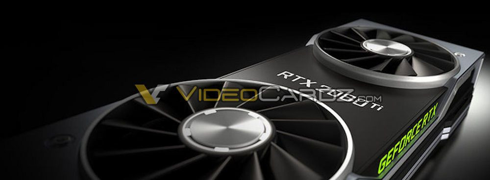 The First Teaser Picture Of Nvidia S Upcoming High End Geforce Rtx 2080 Ti Graphics Card Spotted The New Card Will Feature A Dual Fa Nvidia Graphic Card Leaks