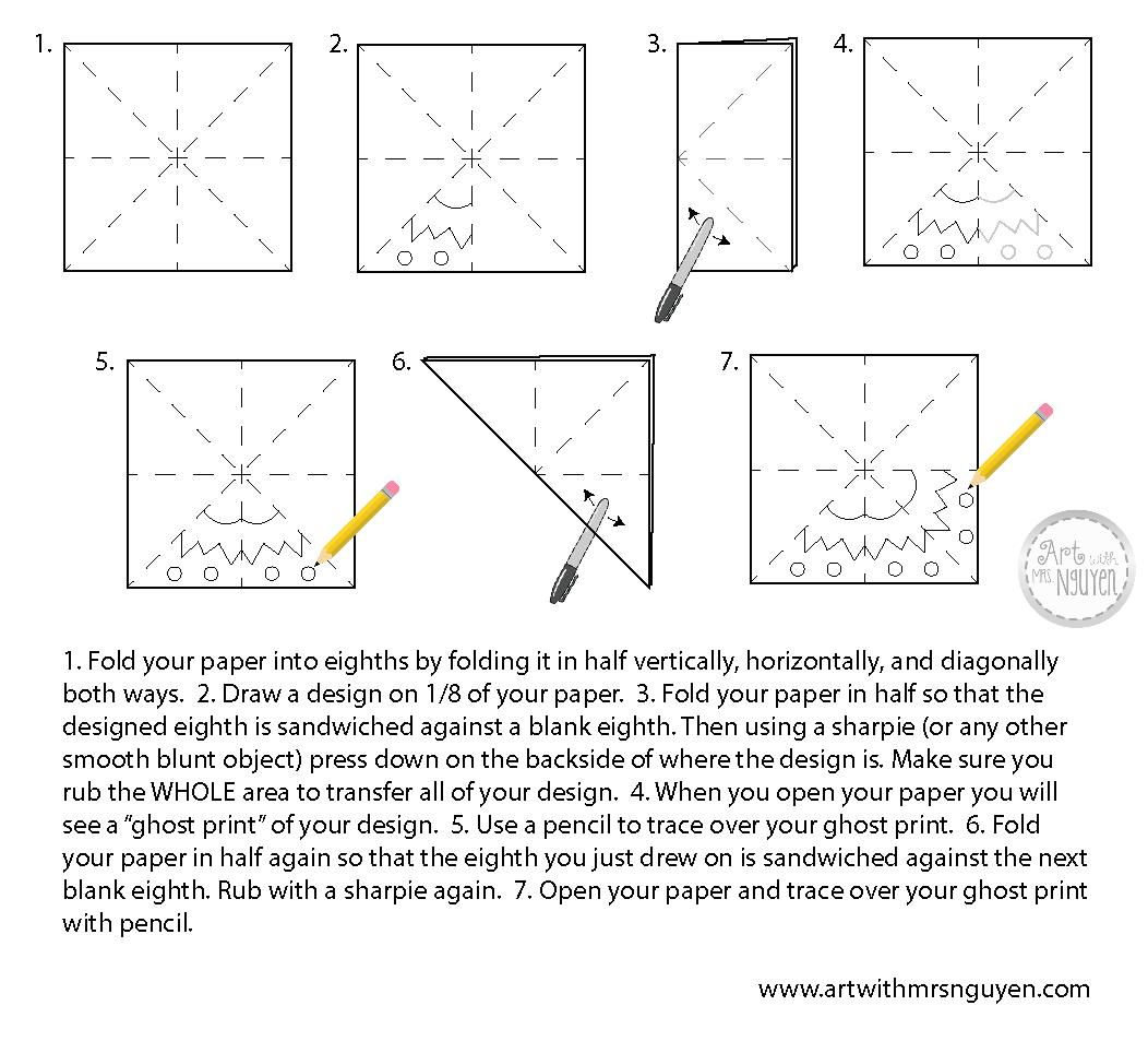 Radial Symmetry Worksheet Printable