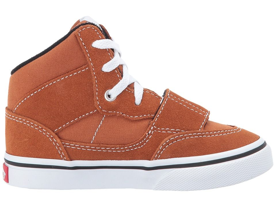 78b1d1c3d1 Vans Kids Mountain Edition (Toddler) Boys Shoes (Canvas   Suede) Glazed  Ginger