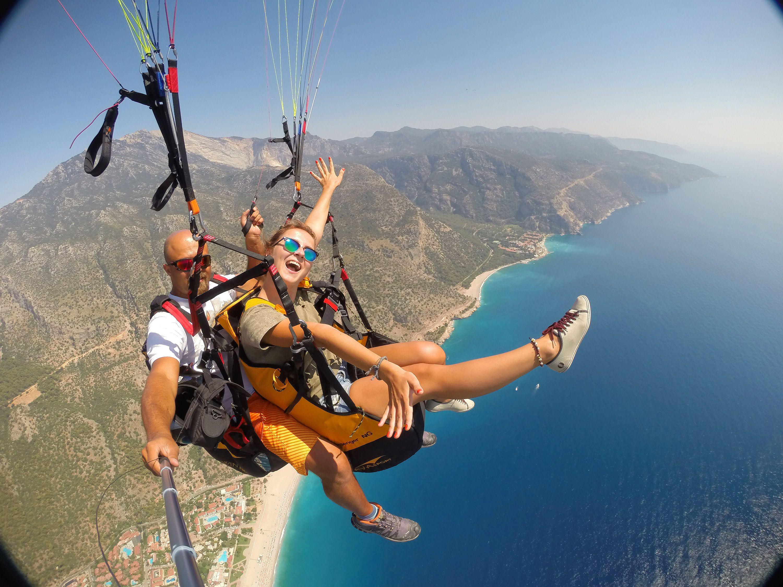 Tandem Paragliding, Oludeniz-Fethiye, Hasan Gunher ...
