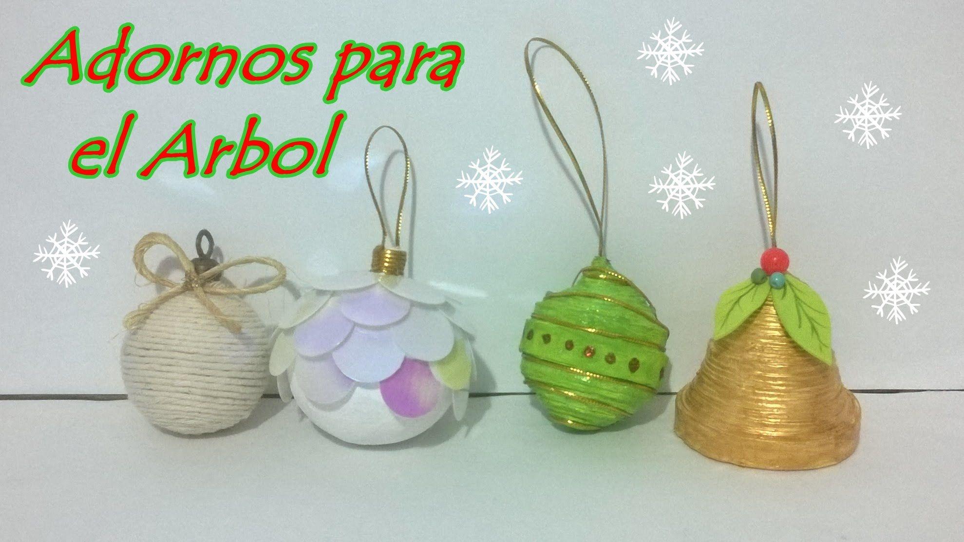 4 ideas de esferas para el rbol navidad manualidades pinterest rbol navidad esferas y - Manualidades para decorar el arbol de navidad ...