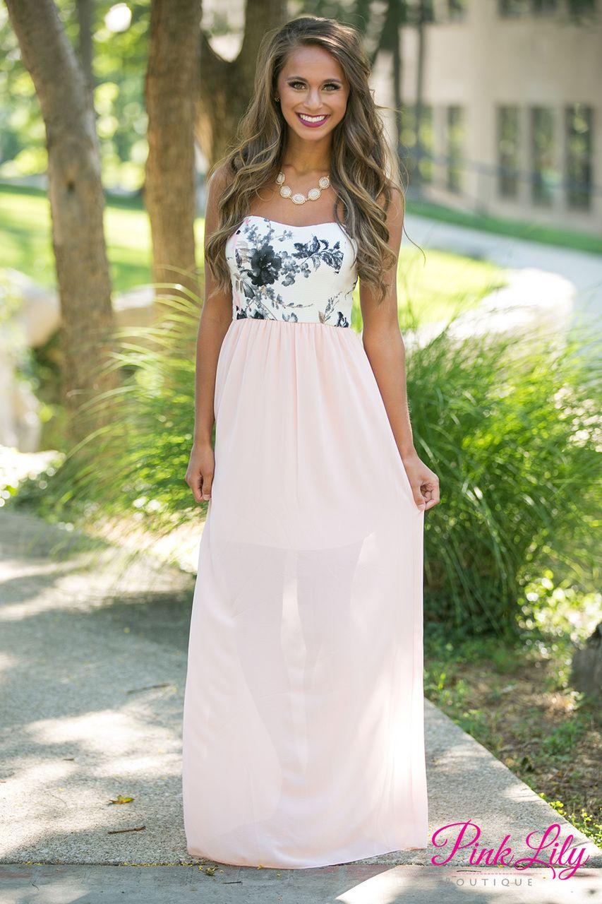 Summer lovin black and pink clearance peach skirt light peach