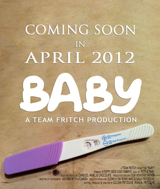 Baby Announcement Movie Poster