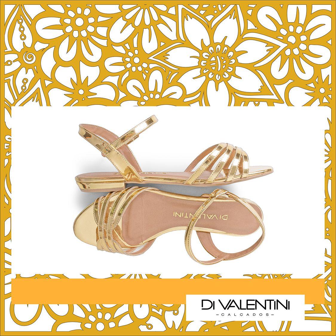Sandália Di Valentini na loja Aspectho Calçados. ♥