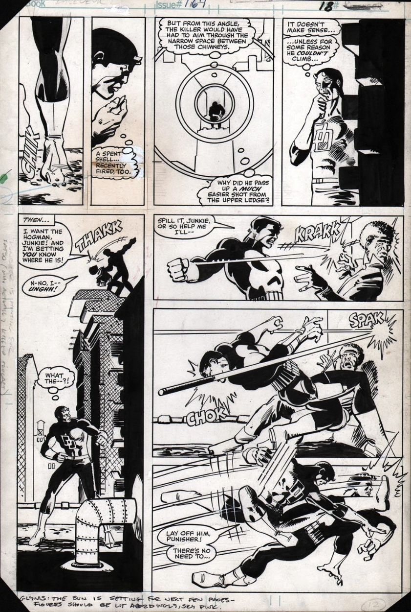 Daredevil 183 Pg18 By Frank Miller And Klaus Janson This Story Was