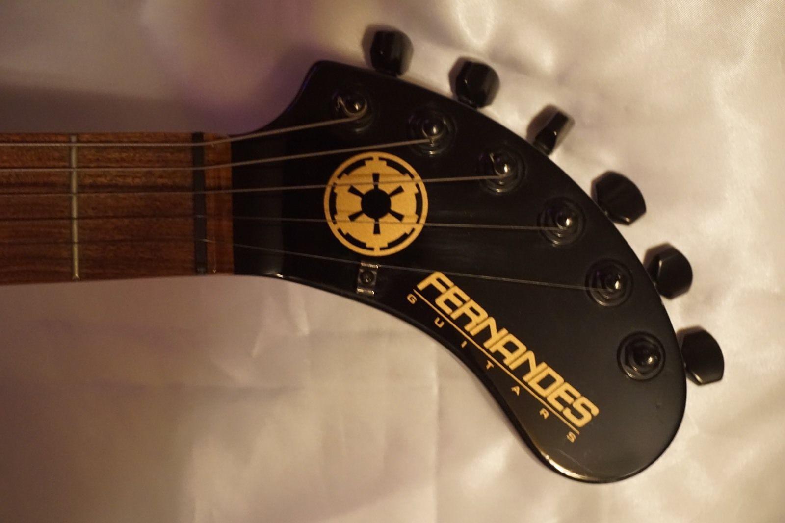 Rare Limited Edition Star Wars Nomad Standard Fernandes Darth Vader