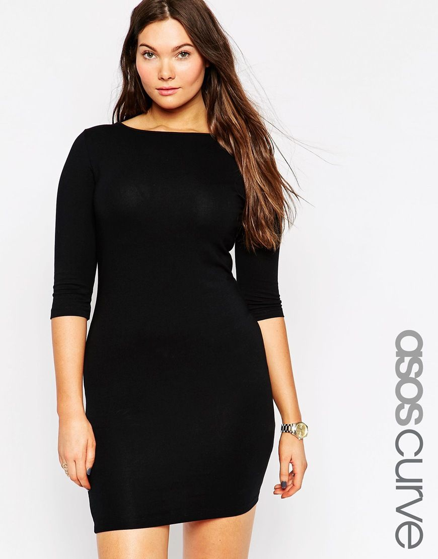 ASOS CURVE Mini Bodycon Dress