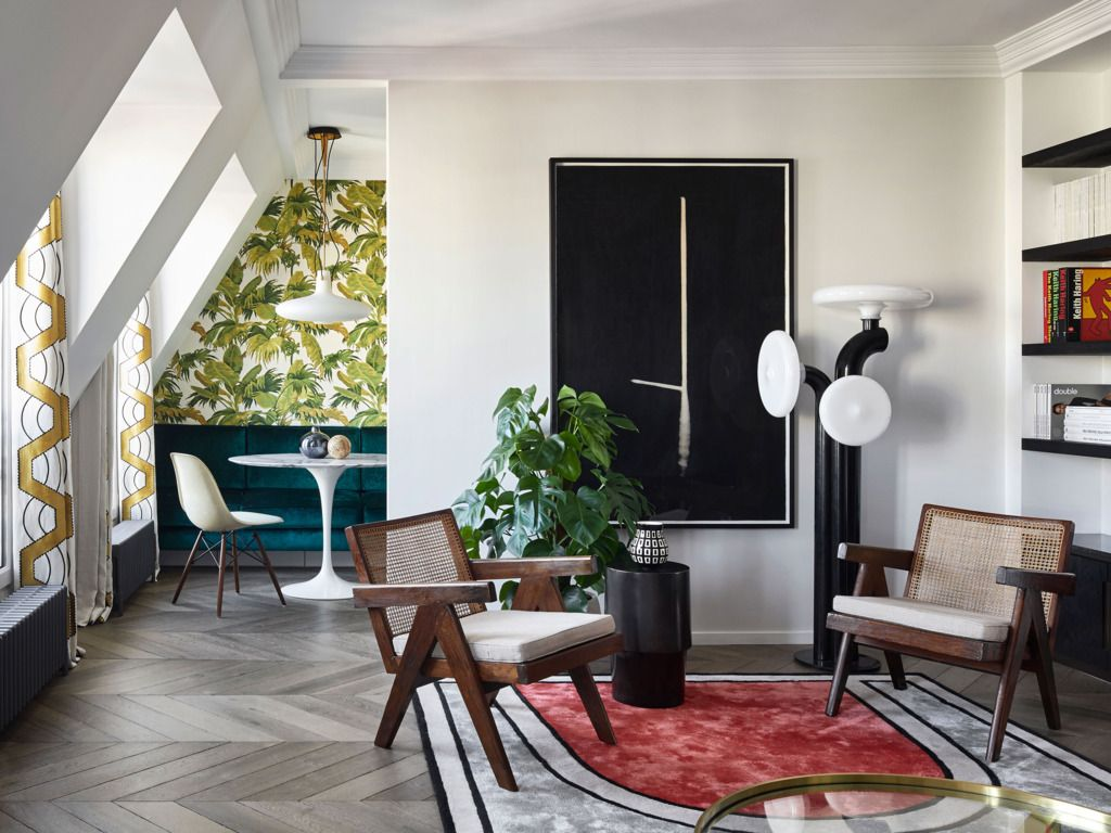 The Exuberant Charms of a Paris Pied-à-Terre | House and Home ...