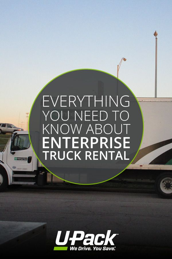 Compare Enterprise Truck Rental To Other Moving Services To See Which One Is Best For Your Needs Enterprise Rental Trucks