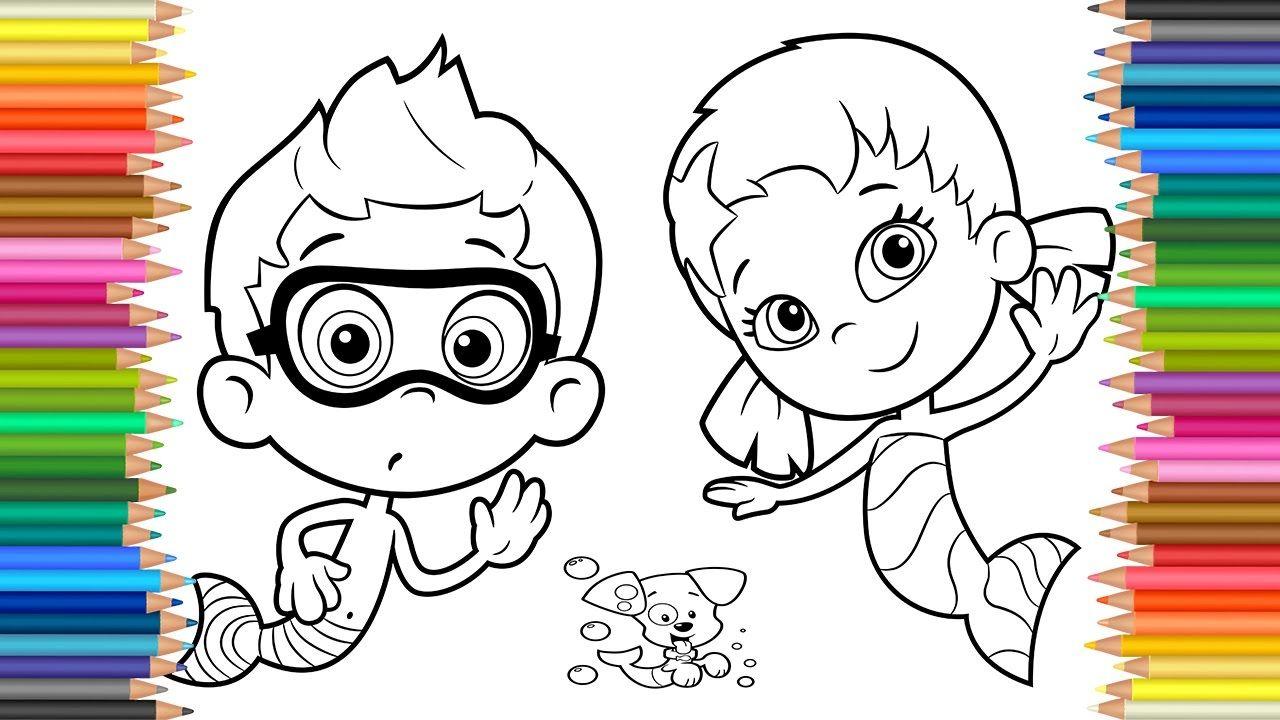 Vistoso Los Guppies De Burbujas Para Colorear Nonny Fotos - Ideas ...