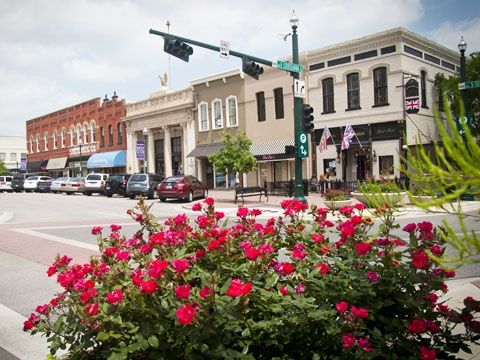 East Side Of Square Mckinney Tx Best Places To Live Main Street Usa Small Town America