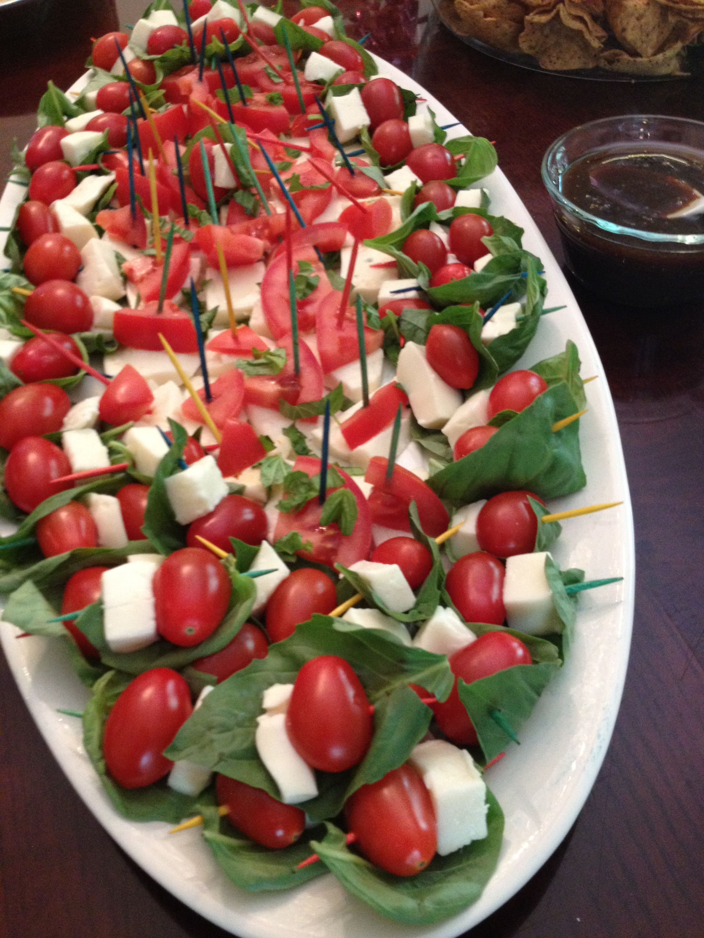 Easy Caprese Great For All Parties