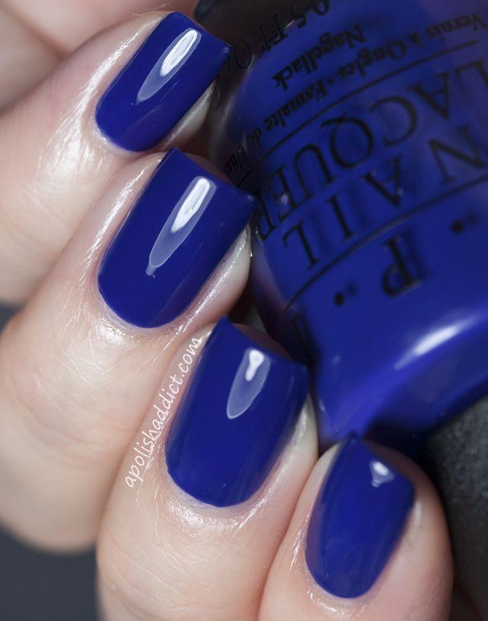 really want it opi eurso euro a deep cobalt blue creme