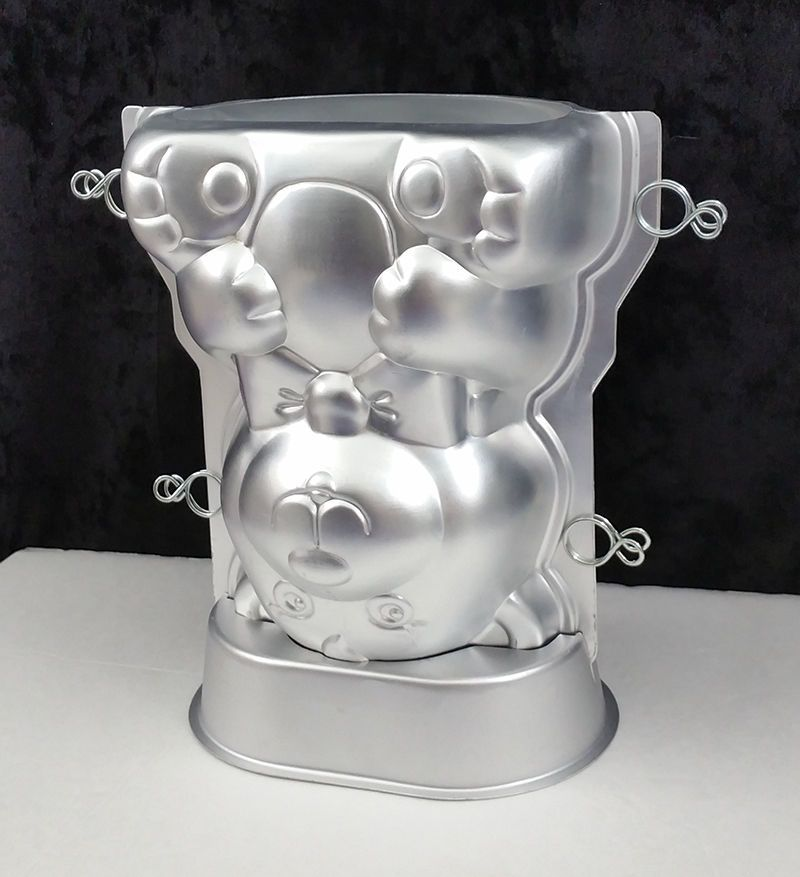 Care Bear 3d Wilton Cake Pan 2105 2325 Vtg 1986 With