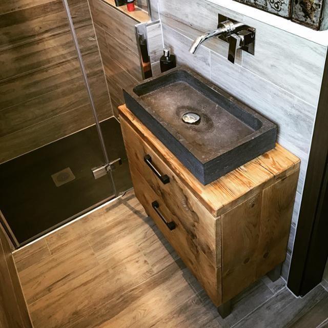Altholzmöbel badezimmer  Badezimmer • Bilder & Ideen