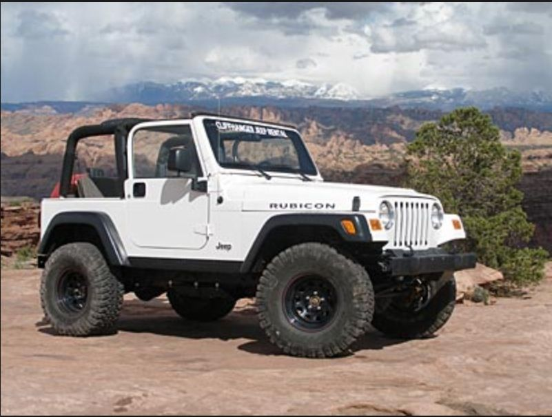 White oh ya Dream cars, Two door jeep wrangler, Dream